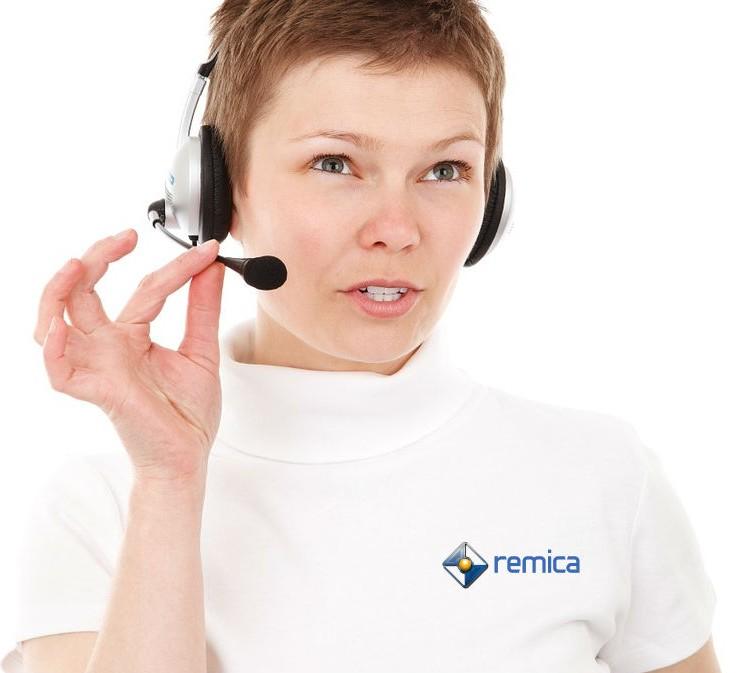 Remica cuenta con atención al cliente las 24 horas, los 365 días al año