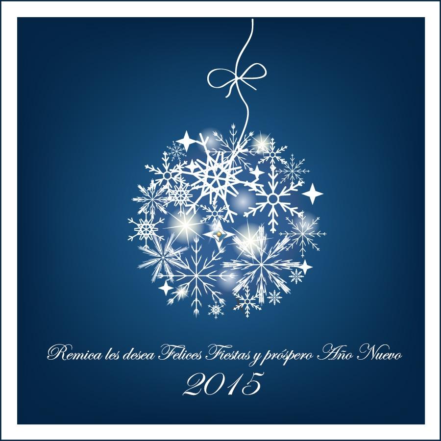 Remica Atención al Cliente les desea Feliz Navidad