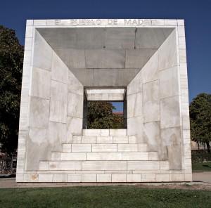 El Monumento a la Constitución de 1978 de Madrid