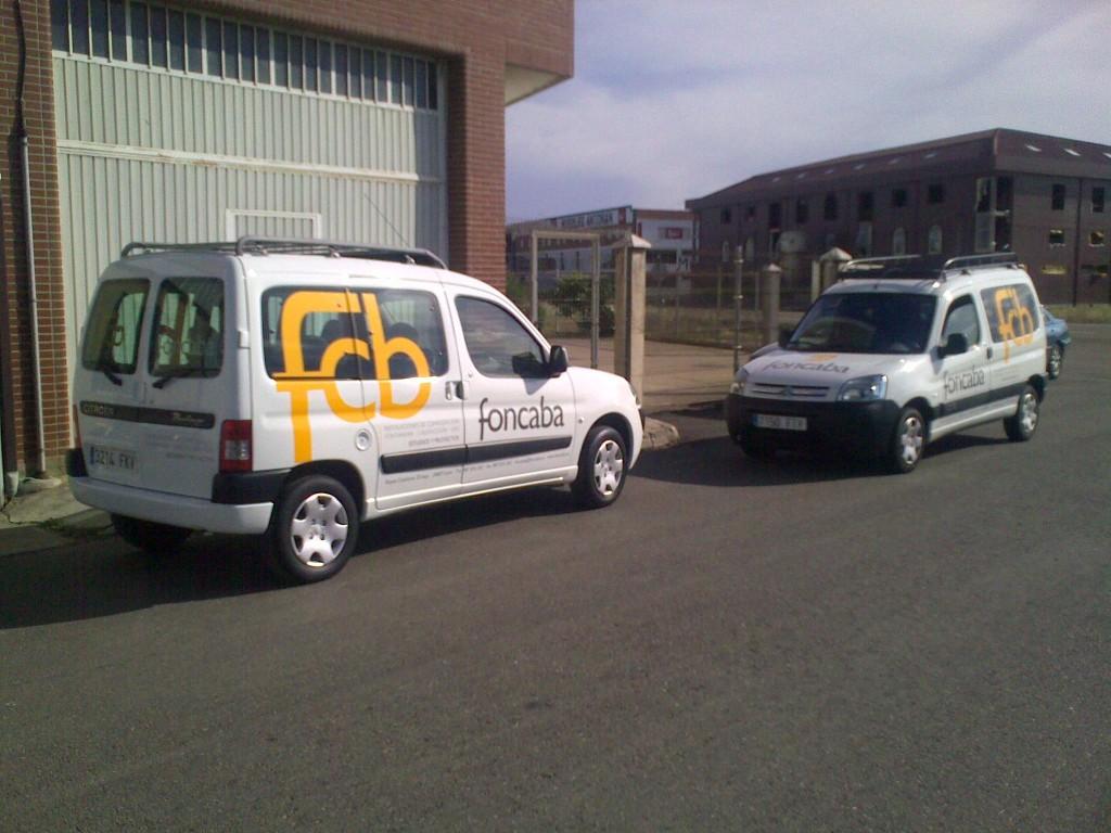 Vehículo de Foncaba en León