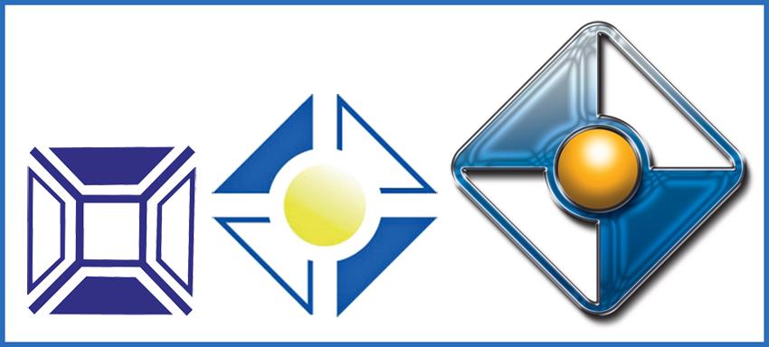 Evolución del logo de Remica
