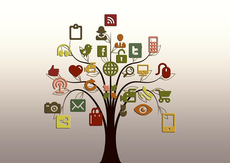 redes sociales de remica y clientes