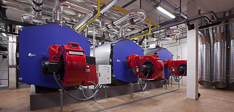 Instalación de gas centralizada