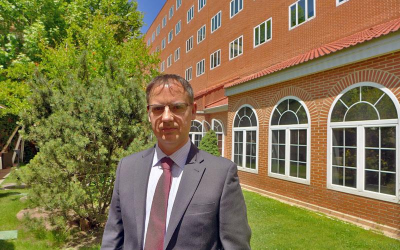 Joaquín Sánchez, director de Servicios Generales de Rafael Hoteles.