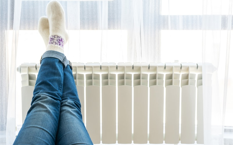 ¿Es mejor apagar la calefacción o dejarla al mínimo?